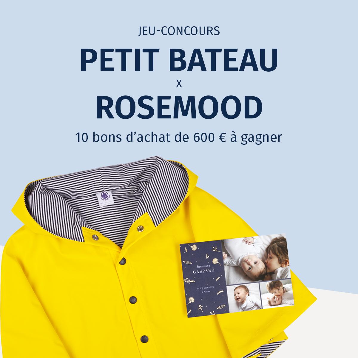 Image phare concours Petit Bateau et Rosemood 2019