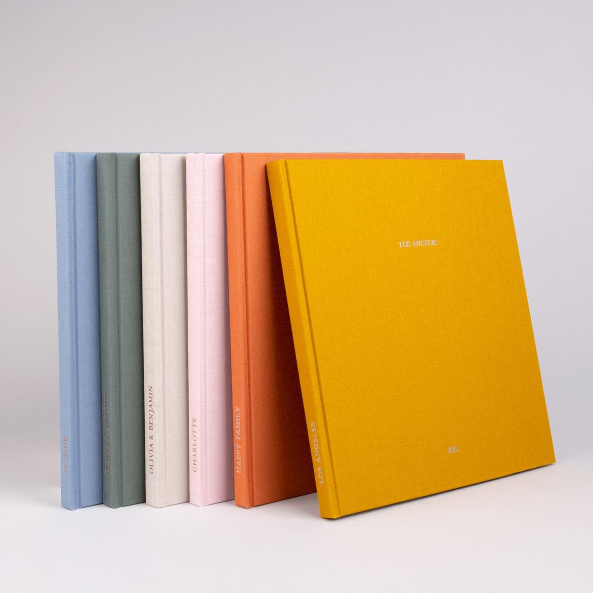 Série d'album de couleurs