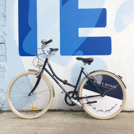 Habillage du vélo Rosemood