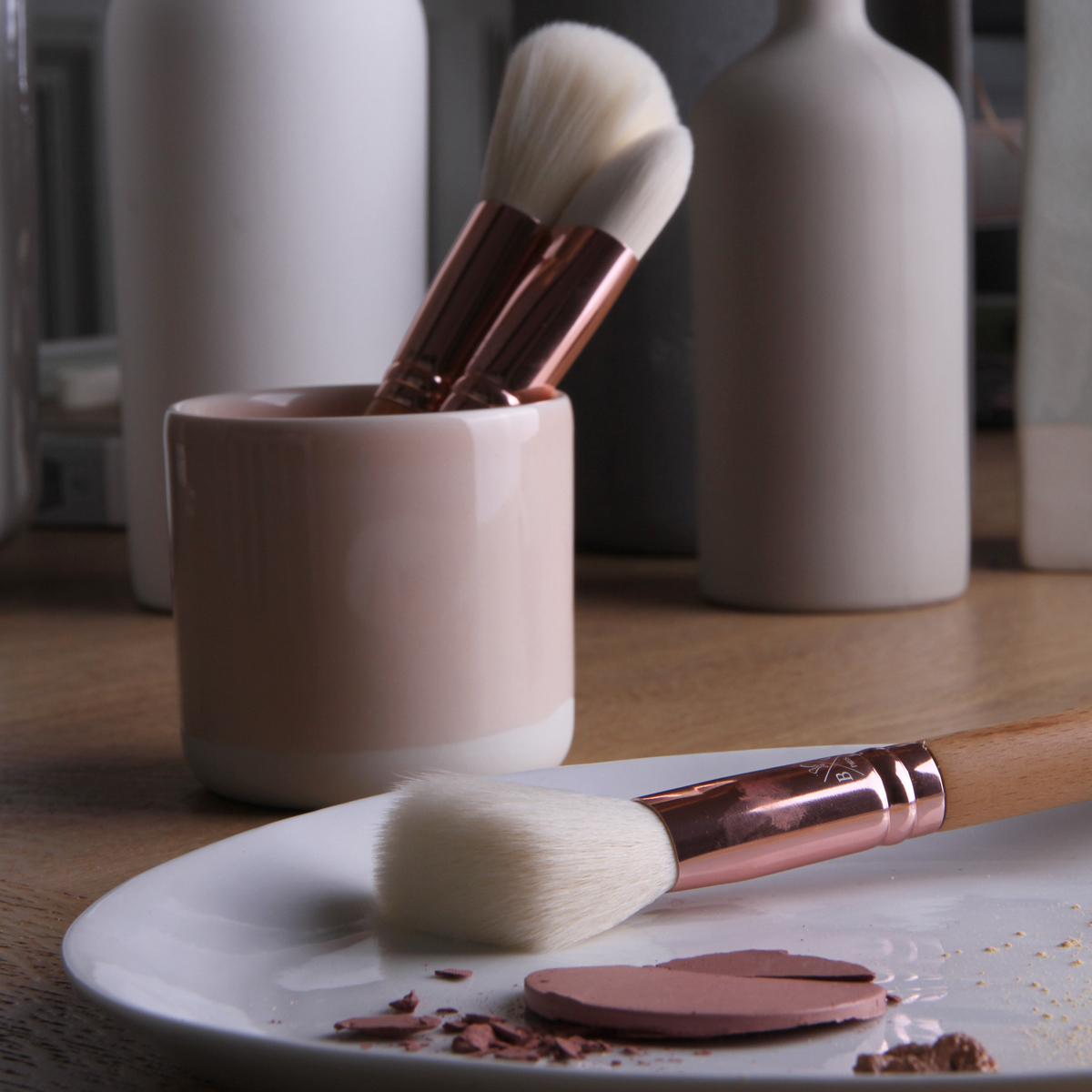 Pinceaux à blush et poudre