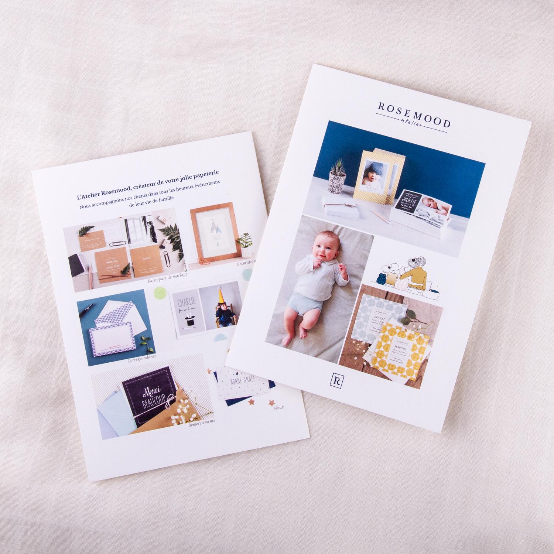 Livret vues des pages 1 et 4